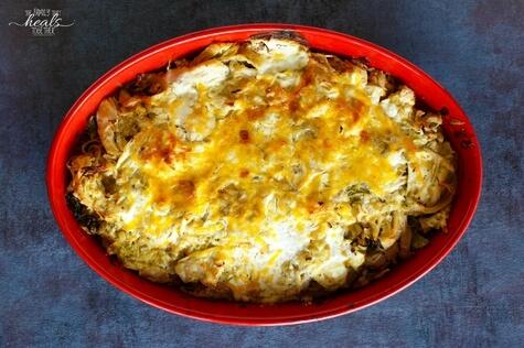 Grain-Free Chicken Enchilada Casserole Recipe | The Family That Heals Together
