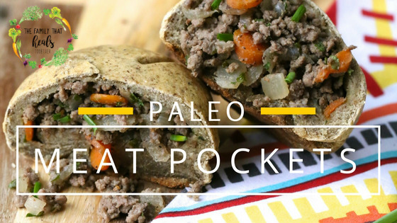 Paleo Meat Pockets from The Paleo Kids Cookbook | The Family That Heals Together