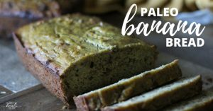 Cassava and Coconut Flour Banana Bread | The Family That Heals Together
