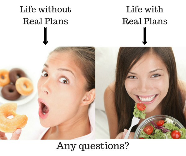Paleo Waffles & Real Plans Meal Planning | The Family That Heals Together