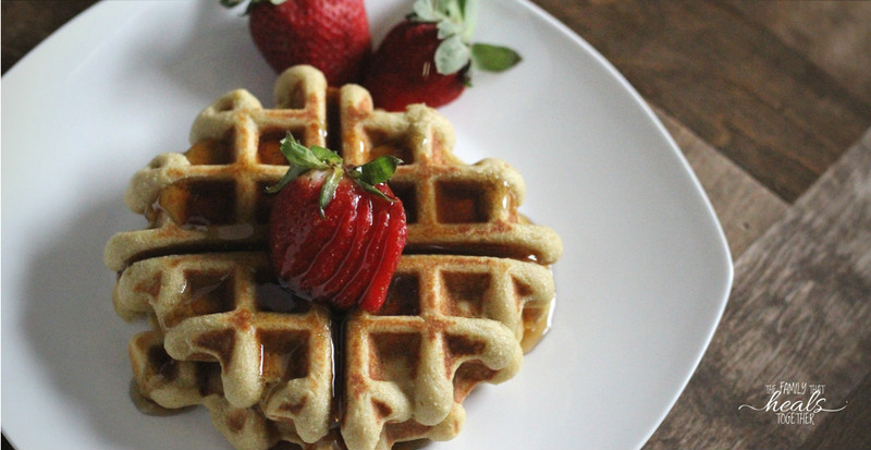 Paleo Waffles with Cassava Flour   The Family That Heals Together