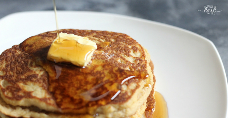 Paleo Pancake Recipe {Best Ever!} | The Family That Heals Together
