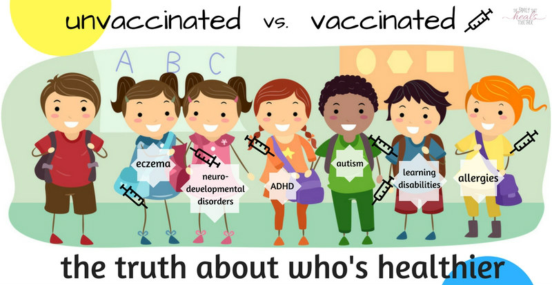 Vaxxed Vs. Unvaxxed: Are Unvaccinated Children Healthier Than Those Who Are Vaccinated?