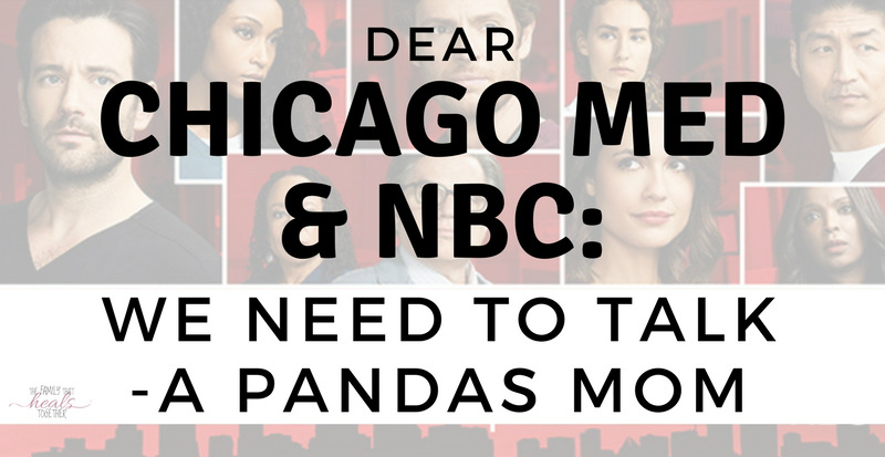 Dear Chicago Med & NBC: We've Got a Bone to Pick with You | The Family That Heals Together