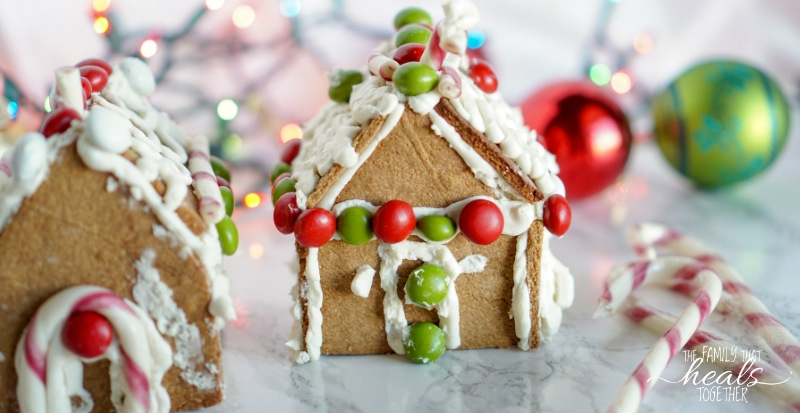 Paleo Gingerbread House Recipe | The Family That Heals Together