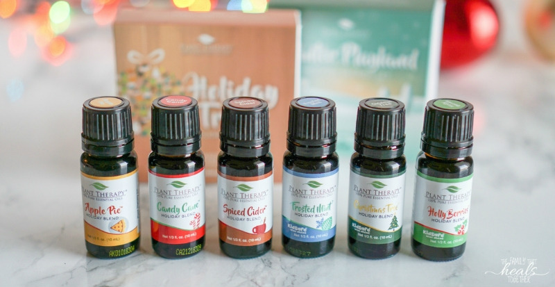 How to Diffuse Essential Oils & Avoid Toxic Candles This Holiday Season (Christmas Essential Oil Blend!)