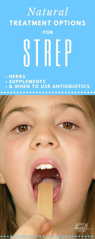 Learn about natural treatment for strep with these tips.