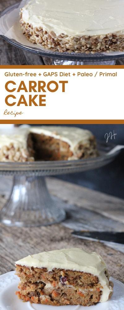 Healthy Carrot Cake Recipe (GAPS / Paleo Carrot Cake)   Jaclyn Harwell