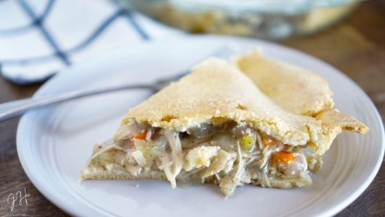Turkey Pot Pie Recipe (Paleo & Gluten-Free) | Jaclyn Harwell