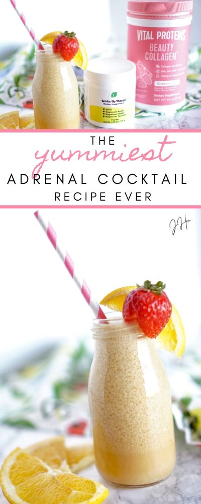 The Yummiest Adrenal Cocktail Recipe! | Jaclyn Harwell